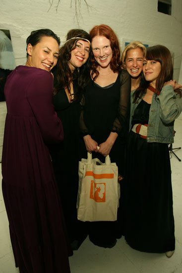 In the picture: (from left to right) Pam Racine